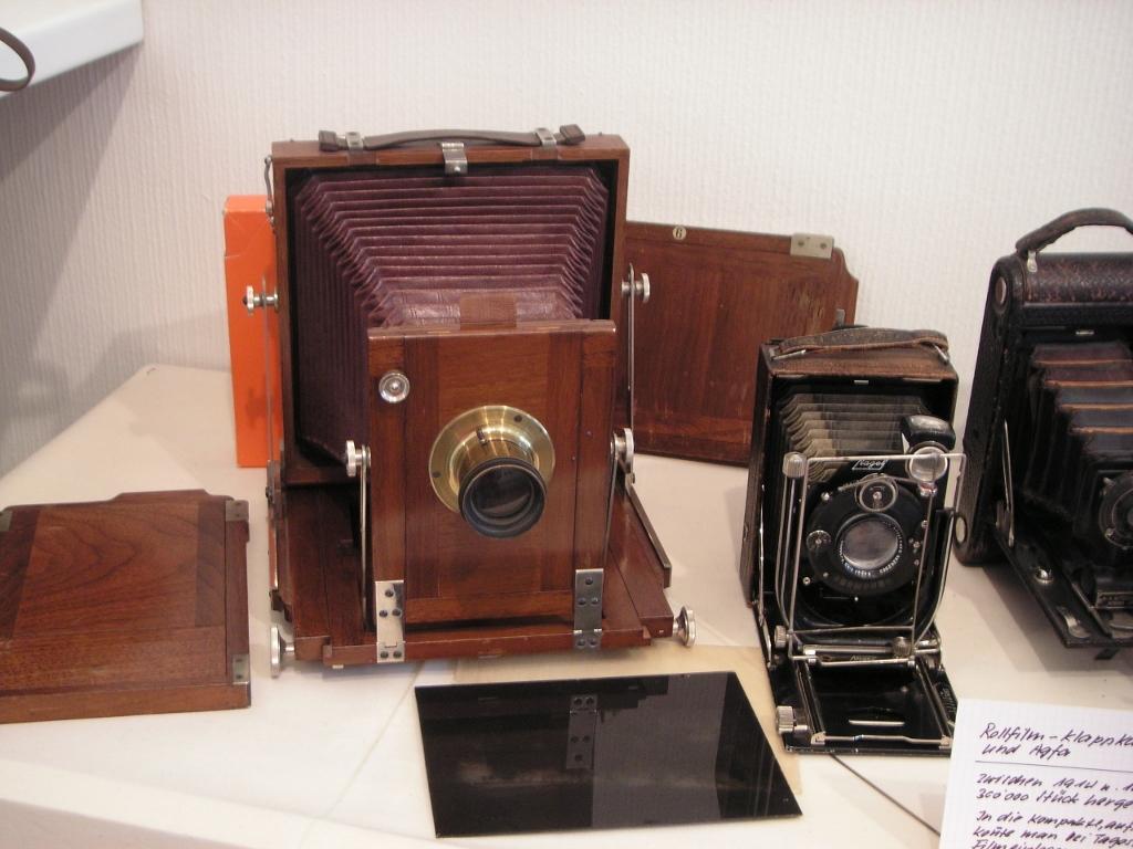 Ausstellung Fotoapparate im Museum, 2007
